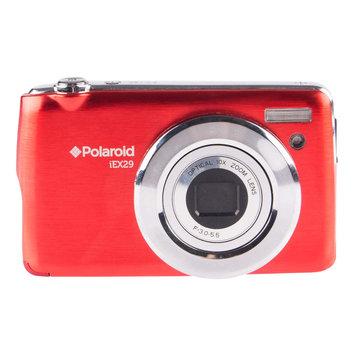 Polaroid IEX29 18MP Compact Digital Camera - Red.