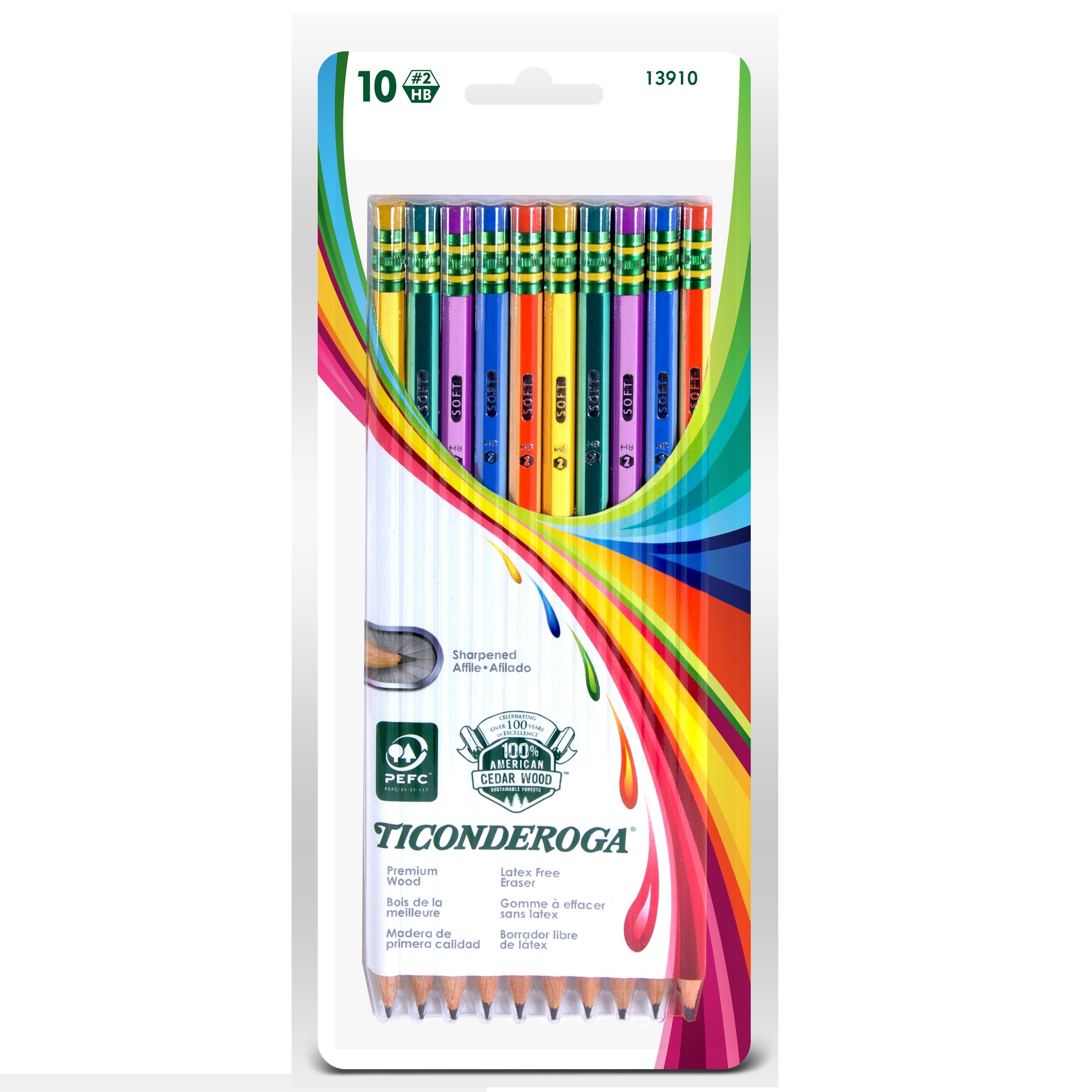 Ticonderoga No. 2 Striped Pencils