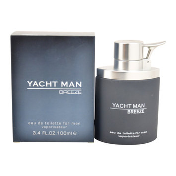 Yacht YACHT49177 Man Breeze Eau De Toilette Spray For Men - 3.4 oz.