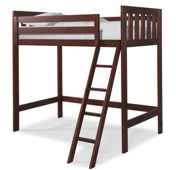 Canwood Furniture Twin Loft Bed Finish: Cherry