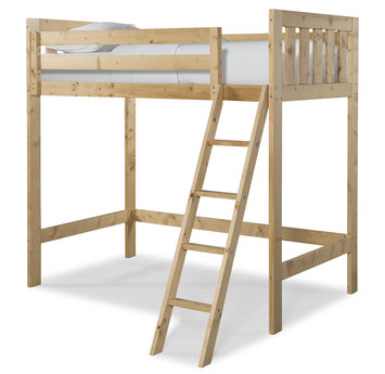 Canwood Furniture Twin Loft Bed Finish: Natural