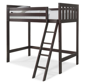 Canwood Furniture Twin Loft Bed Finish: Espresso