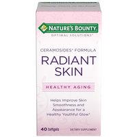 Optimal Solutions Radiant Skin Ceramoside Softgels - 40 Count