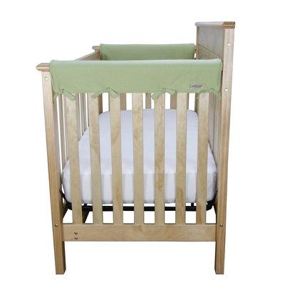 Trend Lab Cribwrap Cotton Jersey Medium Side Crib Rail Cover Color: Sage