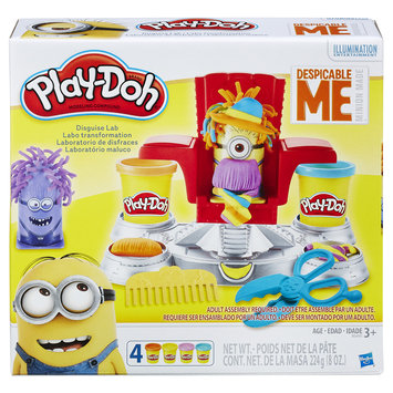 Hasbro Play-Doh Featuring Despicable Me Minions Disguise Lab
