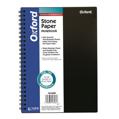 ™ Stone Paper Notebook, 8-3/8