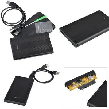 "Insten POTHSATA2507 2.5"" USB 2.0 Version 2 SATA HDD Enclosure, Black"