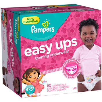 Pampers® Easy Ups™ Training Underwear Girls 4T-5T