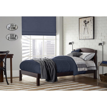 Dorel Asia Dorel Living Braylon Espresso Twin Bed