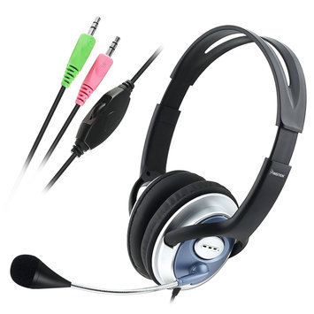 Ascend eForCity VOIP/SKYPE Handsfree Stereo Headset w/ Microphone