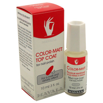 MAVALA Color-Matt Top Coat, 10ml