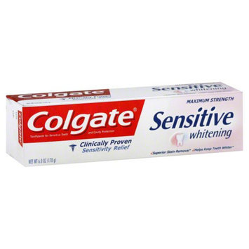 Toothpaste For Sensitive Teeth Whitening Regular 6 Ounce Tube - COLGATE-PALMOLIVE COMPANY