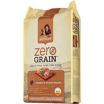 Nutrish Zero Grain Turkey & Potato Recipe