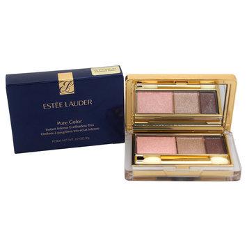 Pure Color Instant Intense Eyeshadow Trio # 04 Platinum Petals by Estee Lauder for Women - 0.07 oz Eyeshadow