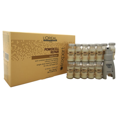 L'Oréal Professionnel Expert Serie Powercell Repair Single-Dose Repairing Treatment (For Very Damaged Hair)