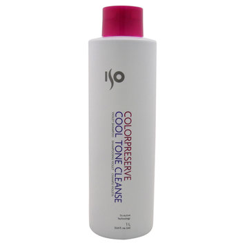 ISO Color Preserve Cool Tone Cleanse Shampoo Liter
