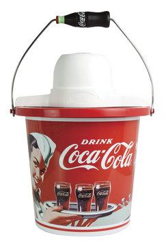 Nostalgia Electrics 4-qt. Coca-Cola Series Ice Cream Maker