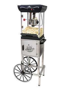 Nostalgia Electrics 2.5 oz. Vintage Kettle Popcorn Cart