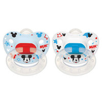 NUK Disney Orthodontic 6 - 18 Months Silicone Pacifier 2 Pack - Minnie Mouse
