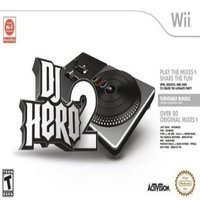 Activision Dj Hero 2 Bundle Entertainment - Complete Product - Standard - Retail - Wii (96182)