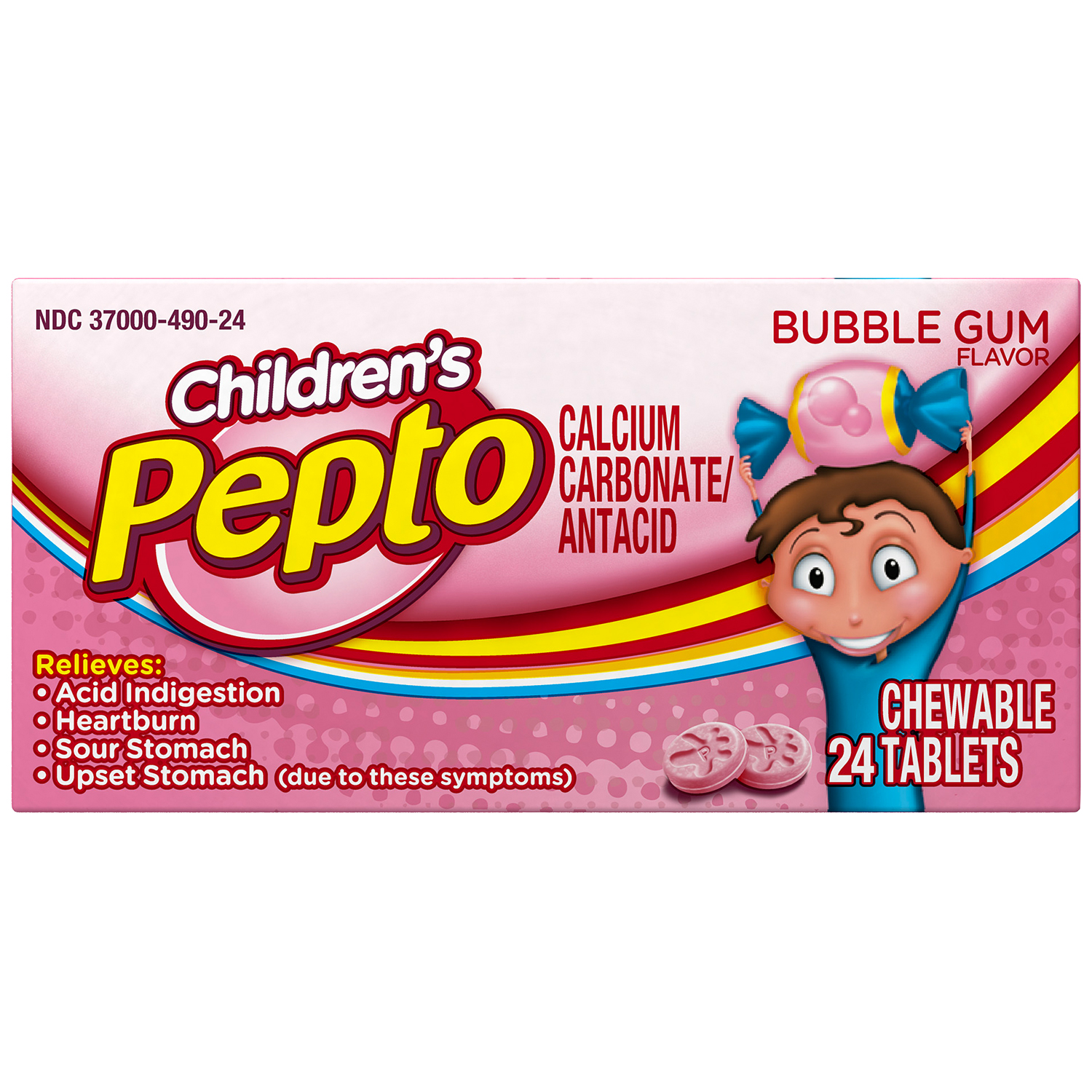 Children's Pepto Calcium Carbonate Antacid