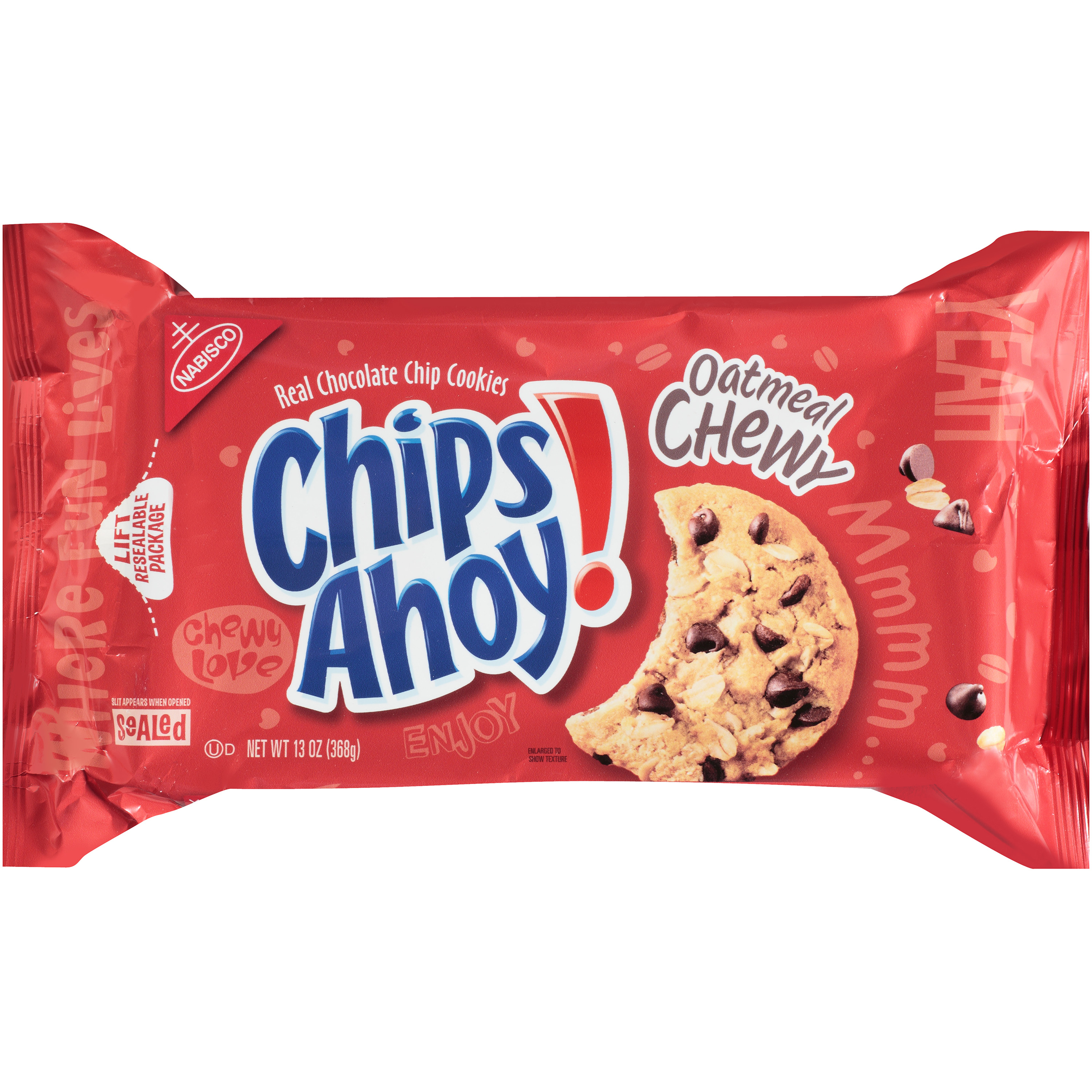 Nabisco Chips Ahoy! Chocolate Chip & Oatmeal Chewy Cookies