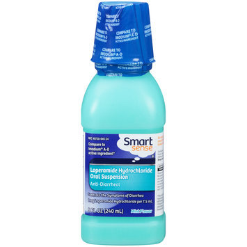 SMART SENSE Loperamide Hydrochloride Oral Suspension Mint Flavor Liquid Anti Diarrheal BOTTLE - mygofer