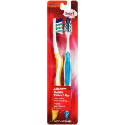 Oral Health MultiFit Contour Plus Medium Toothbrush 2 PEG