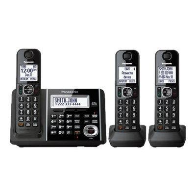 Panasonic KX-TGF343B Cordless Phone - Cordless - 1 x Phone Line