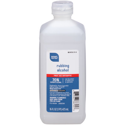 Smart Sense Rubbing Alcohol First Aid Antiseptic