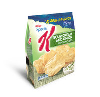 Special K® Kellogg's Cracker Chips Sour Cream; Onion