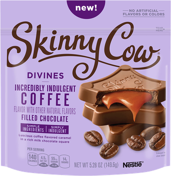 Skinny Cow Divine Filled Chocolate Coffee Candy