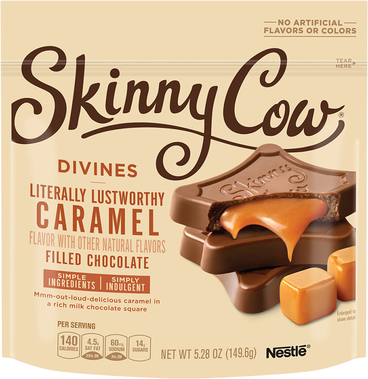 Skinny Cow Divine Caramel Filled Chocolates