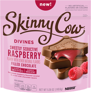 Skinny Cow Divine Filled Chocolate Raspberry Candy