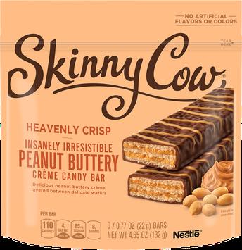 Skinny Cow Heavenly Crisp Peanut Butter Candy Bars