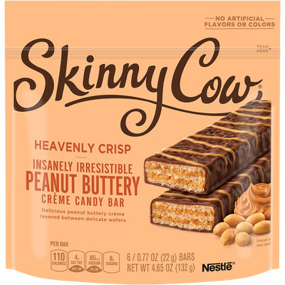 Skinny Cow Heavenly Crisp Peanut Butter Candy Bars