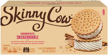 Skinny Cow Cinnamontastic Snickerdoodle Sandwiches