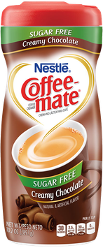 Coffee-mate® Powder Creamy Chocolate Sugar Free