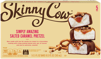 Skinny Cow Salted Caramel Pretzel Candy Bar