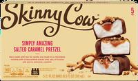 Skinny Cow Salted Caramel Pretzel Candy Bar