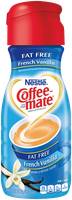 Coffee-mate® French Vanilla Fat Free