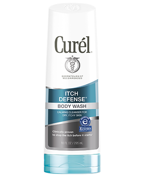 Curél® ITCH DEFENSE® BODY WASH CALMING CLEANSER FOR DRY ITCHY SKIN