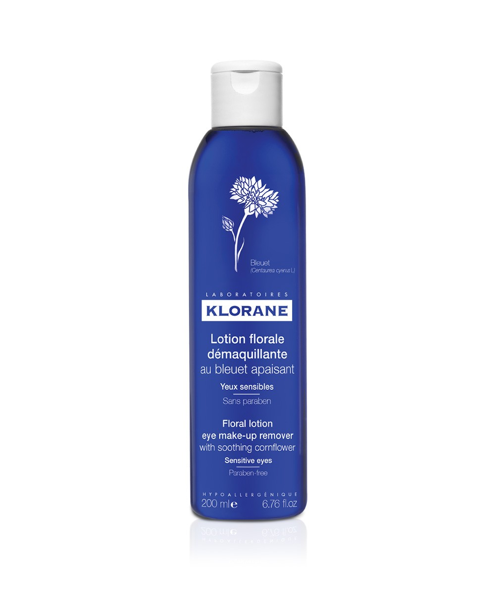 Klorane Eye Make-Up Remover with Soothing Cornflower