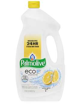 Palmolive® eco® gel Dishwasher Detergent Lemon Splash