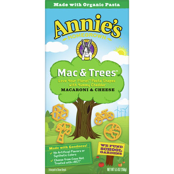 Annie's Mac and Trees Macaroni and Cheese, 5.5 oz