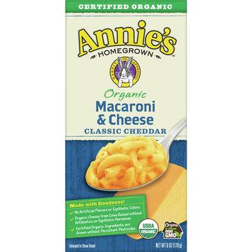 Annie's Organic Macaroni & Cheese, Pasta & Mild Cheddar Mac & Cheese, 6 oz