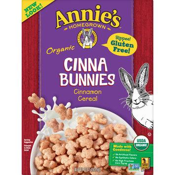 Annie's Organic, Gluten Free Cinna Bunnies Breakfast Cereal, 10 oz Box