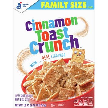 Cinnamon Toast Crunch, Cereal, with Whole Grain, 19.3 oz
