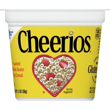Cheerios Cups, Gluten Free, Cereal with Whole Grain Oats, 1.3 oz