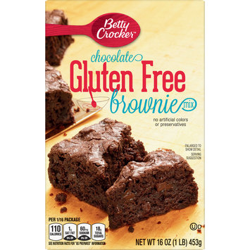 Betty Crocker Gluten Free Brownie Mix Chocolate, 16 oz